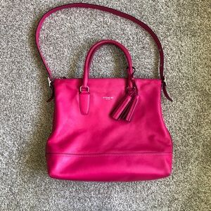 Coach Legacy Rory Tote 19892 Hot Pink